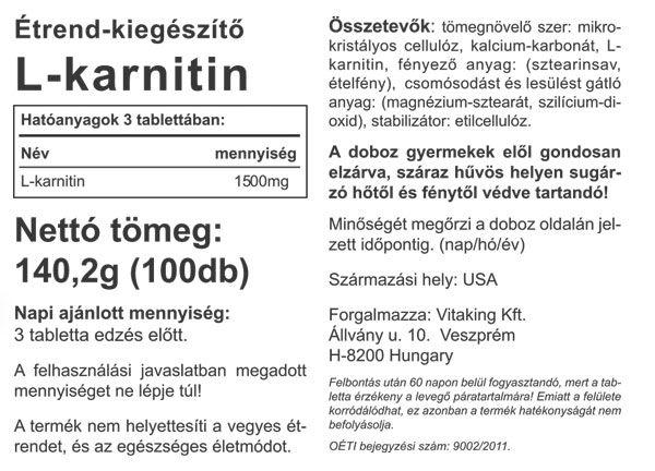 Vitaking-L-Carnitine