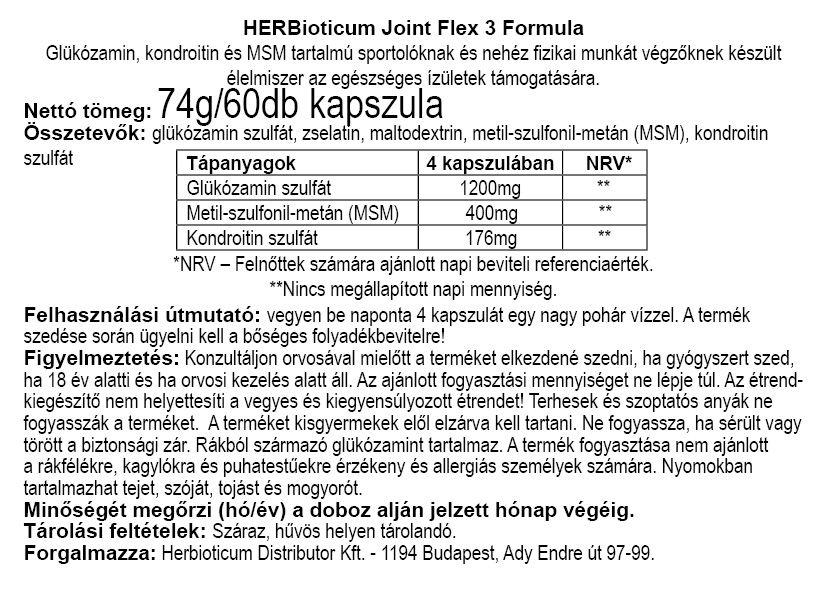 Herbioticum Joint Flex 3