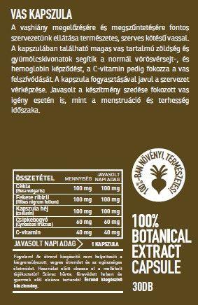 Vitamin Botte vas kapszulal