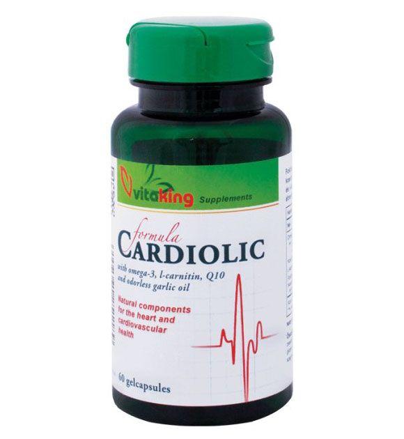 Vitaking Cardiolic Formula gélkapszula