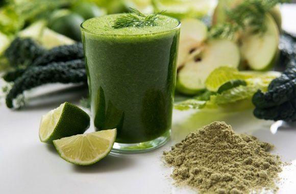 Méregtelenítés chlorella algával