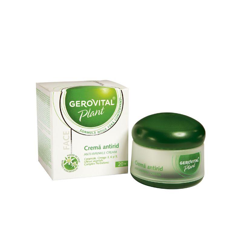 Gerovital Plant ránctalanitó krém - 50 ml: vásárlás..