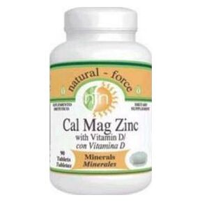 Natural Force Cal-Mag-Zinc + D Vitamin tabletta