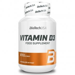 BioTech USA D3-vitamin 50mcg tabletta