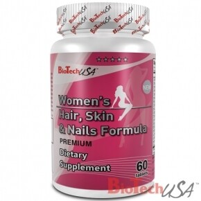 BioTech USA Women's Hair-Skin-Nails formula