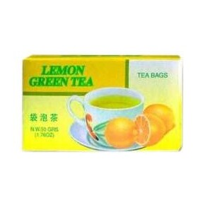Dr. Chen lemon green filteres tea