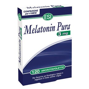 ESI melatonin 3mg tabletta