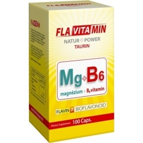 Flavitamin Nature+Power Magnézium+B6 kapszula