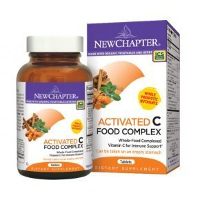 New Chapter Activated C Food Complex tabletta