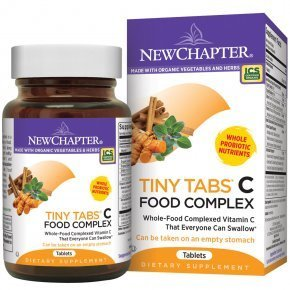New Chapter Activated C Food Complex Tiny tabletta