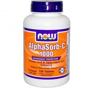 Now Alphasorb C-vitamin 1000mg tabletta