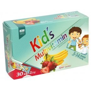 OCSO Kid's multivitamin citrom-cola granul�tum