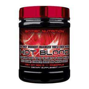 Scitec Nutrition Hot Blood anan�sz italpor