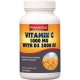 Pharmekal C-vitamin 1000 mg + D3 2000 NE (2000 IU) tabletta