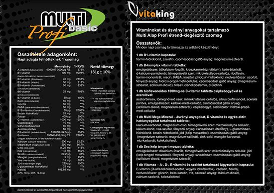 Vitaking Multi Basic Profi