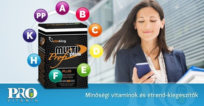 Vitaking Multi Plus Profi multivitamin csomag