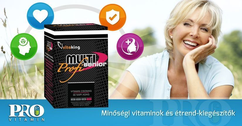 Vitaking Multi Senior Profi multivitamin csomag