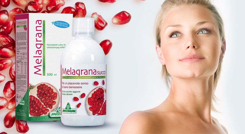 Specchiasol Melagrana 100%-os gránátalma koncentrátum