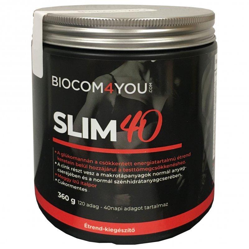 biocom slim 40 étrend)