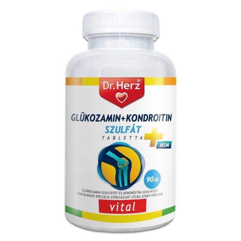glükózamin-kondroitin komplex tabletta)