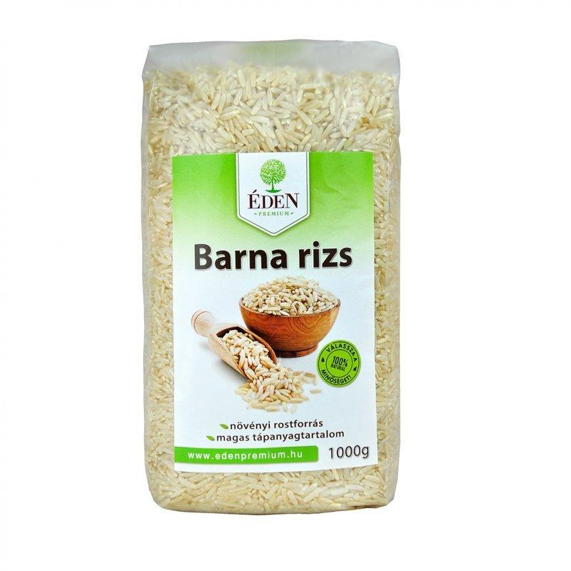 Éden Prémium barna rizs - 1000g: vásárlás, hatóanyagok..
