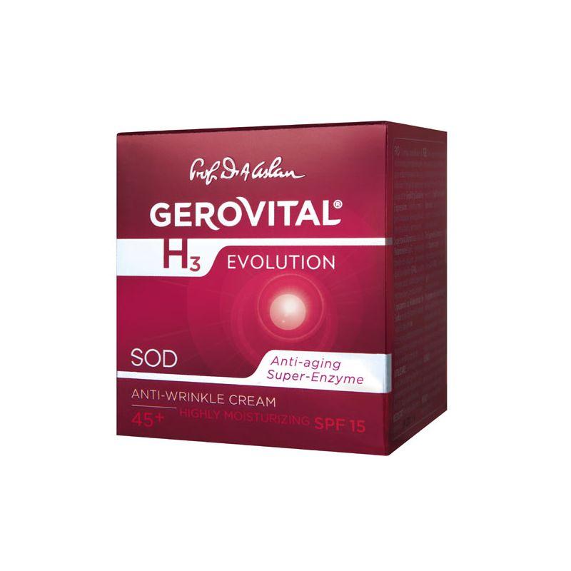 Gerovital H3 Evolution intenzíven hidratáló ránctalanító..