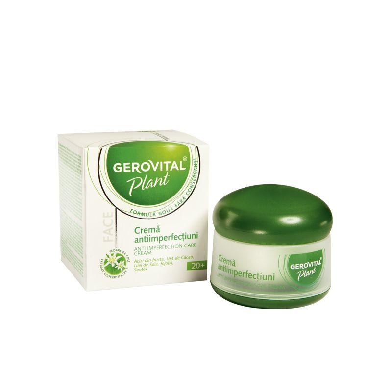 Gerovital Plant krém bőrhibákra - 50 ml: vásárlás..