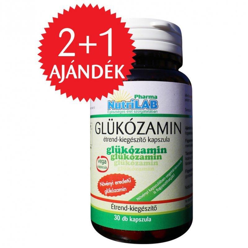 Nutrilab Glükozamin kapszula – 30db