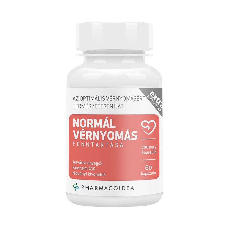 Pharmacoidea Normál vérnyomás fenntartása Extra kapszula..