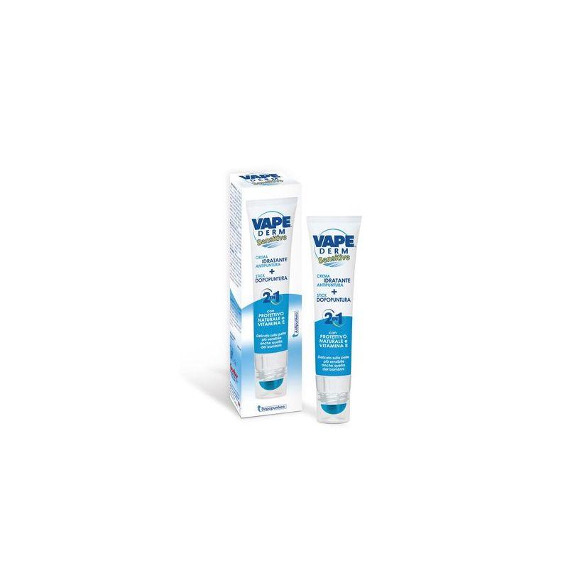 Vape Derm Sensitive 2in1 Szúnyog- és kullancsriasztó krém..