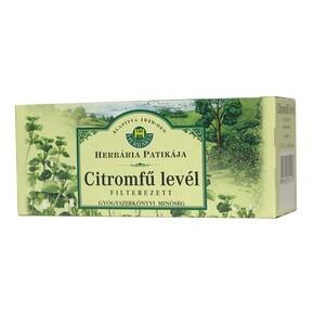2414440381 Herbária citromfű levél tea - 25x1g filter/doboz: vásárlás ...