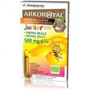 Arkoroyal Bio Junior Royal Jelly 500mg ampulla