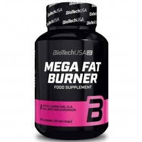 BioTech USA Mega Fat Burner tabletta