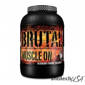 Brutal Nutrition Muscle On citrom shake