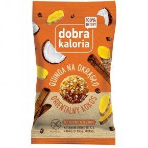 Dobra Kaloria Quinoa energiagolyó keleti kókusz - 24g..
