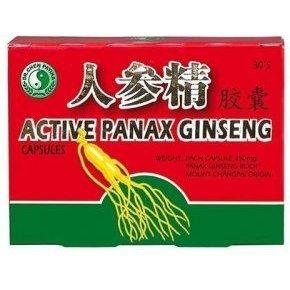 Aktív panax ginseng kapszula - 30db