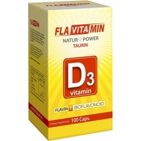 Flavitamin Nature+Power D3 vitamin kapszula