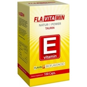 Flavitamin Nature+Power E vitamin kapszula