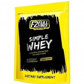 Full Force Simple Whey vanília