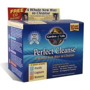 Garden of Life Perfect Cleanse with Organic Fiber - Kits