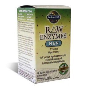 Garden of Life Raw Enzymes Men kapszula