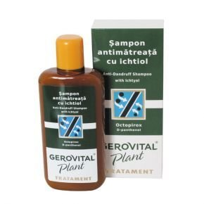 Gerovital Plant Treatment korpásodás elleni sampon