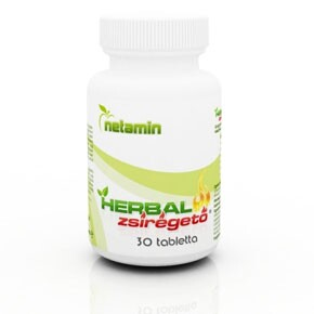Netamin Herbal Weight Loss zsírégető tabletta