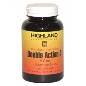 Highland Double Action C-500 vitamin