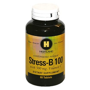 Highland Stress-B 100 tabletta