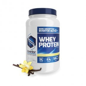 Inventor Nutrition Whey Protein Concentrate vanília