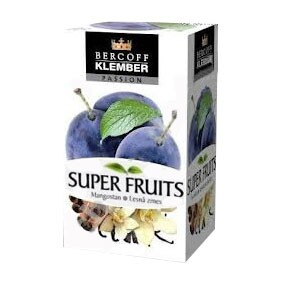 Klember super fruit szilva-vanília tea