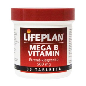 Lifeplan Mega B-vitamin tabletta