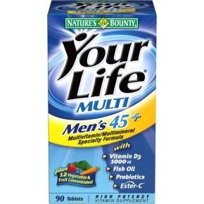 Natures Bounty your life men's tabletta
