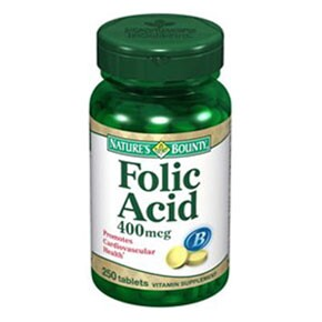 Natures Bounty Folic Acid tabletta